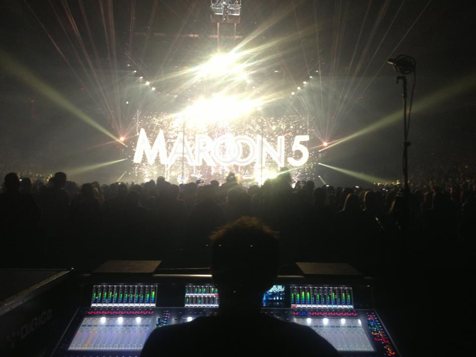 Resume Jim Ebdon Sound Engineer (Front Of House)