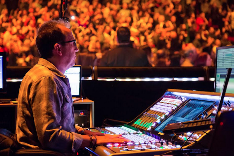 Jim Ebdon Sound Engineer (Front Of House)